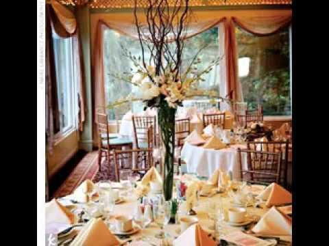 Diy Wedding Centerpiece Vases Decorating Ideas Youtube