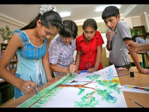 Child-centred learning in Uzbekistan