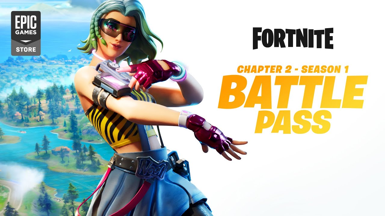 Fortnite Chapter 2 - Season 1 | Battle Pass Gameplay ...