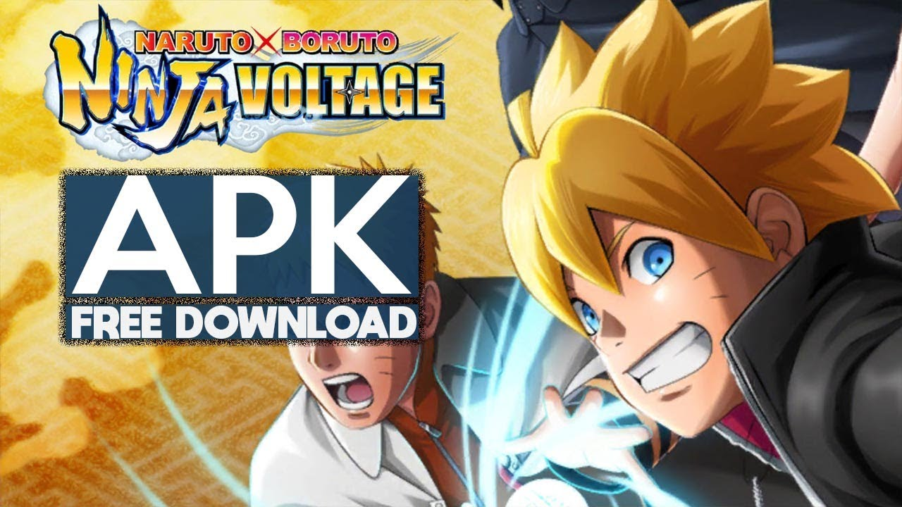naruto x boruto ninja voltage mod apk latest version