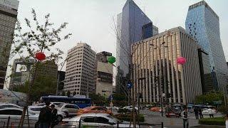 Южная Корея (ч. 3). Гуляем по Сеулу(Давайте прогуляемся по центру Сеула с осмотром достопримечательностей..., 2015-05-20T21:43:18.000Z)