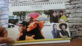"RUS Обзор Календаря ""Бегущий человек"" Calendar ""Running Man"" 2015-2016"