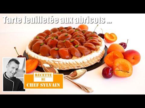 tarte-feuilletée-abricots-et-lait-d'amande---recette-par-chef-sylvain-!