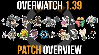Overwatch Patch 1.39 Overview