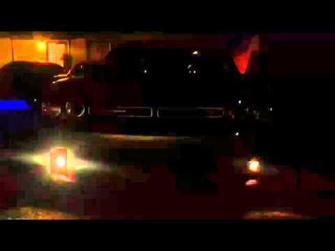 automotive tazer light show dodge challenger youtube