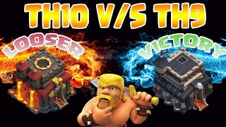 TH10 (3 STAR) BY TH9 ATTACKERS - CLASH OF CLANS 2017