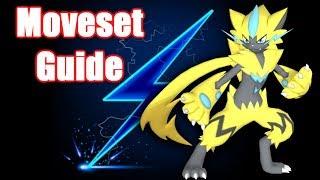 Zeraora Moveset Guide Pokemon Ultra Sun and Ultra Moon