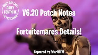 Daily Fortnite #214 v6.20 Battle Royale Patch Notes and Fortnitemares!