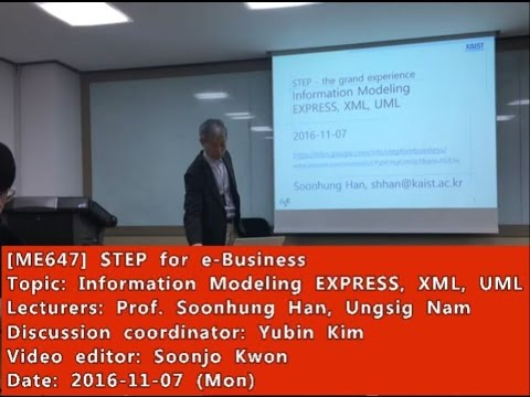 STEP for e-Business : Information Modeling EXPRESS, XML, UML