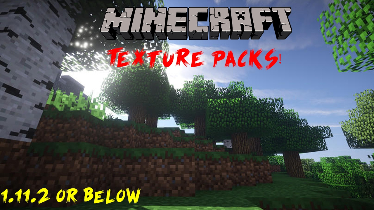 How to install Texture Packs in Minecraft! - YouTube