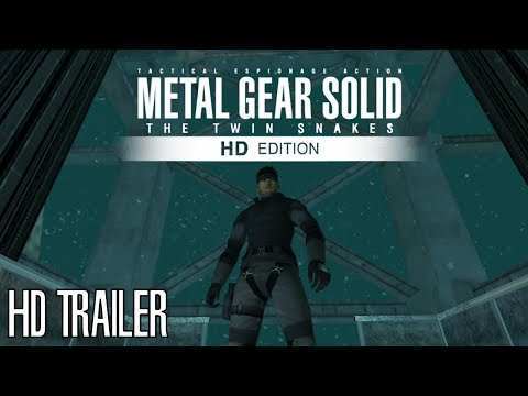 Metal Gear Solid The Twin Snakes Trailer HD 1080p (Gamecube Trailer)