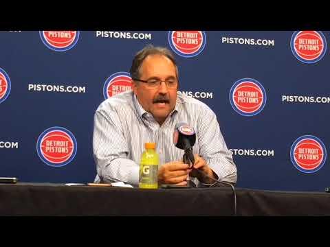 Stan Van Gundy upset with Pistons' play in second half of win vs. Hawks