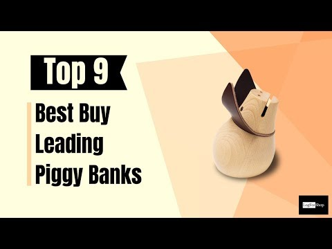 ▶️ Teach Your Kids To Keep Savings With Top 9 Best Piggy Banks