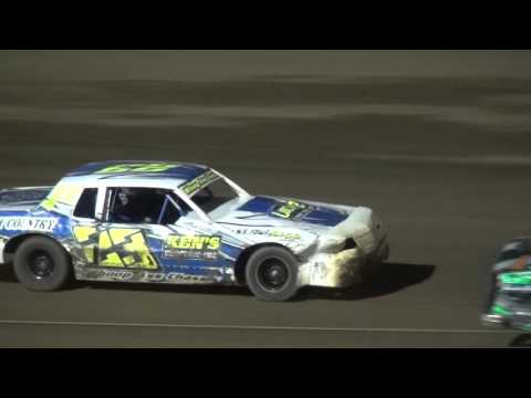 IMCA Hobby Stock feature Independence Motor Speedway 5/7/16