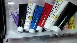 Акриловые краски с Aliexpress OUMAXI
