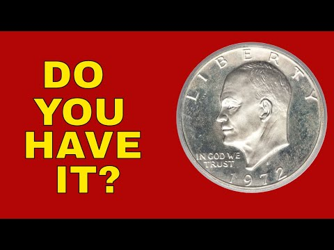 Eisenhower Dollar Worth Money! 1972 Dollars To Look For!