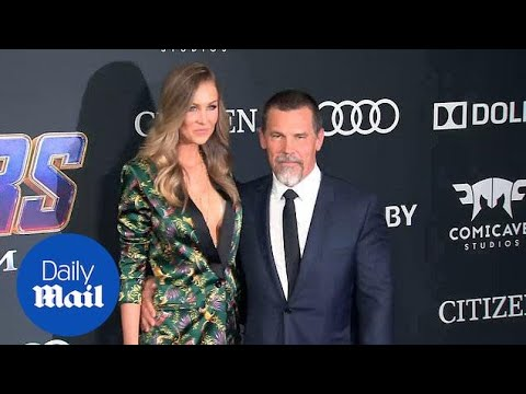 Josh Brolin And Wife Kathryn Attend Avengers: Endgame Premiere
