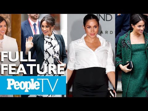 Meghan Markle's Royal Maternity Style: An Insider's Look | PeopleTV