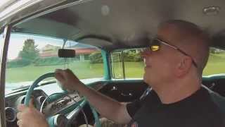 57 chevy 57th birthday part 2 gopro footage happy fathers day thank you