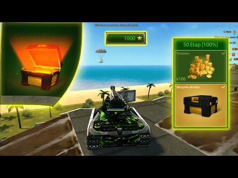 Tanki Online - 1000 Stars Done! Opening Skin Container ( May Challenges )