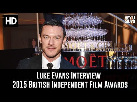 Luke Evans Interview - The 2015 British Independent Film Awards