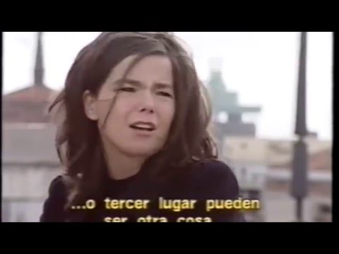 Björk has no time for your sexism bullshit 1994