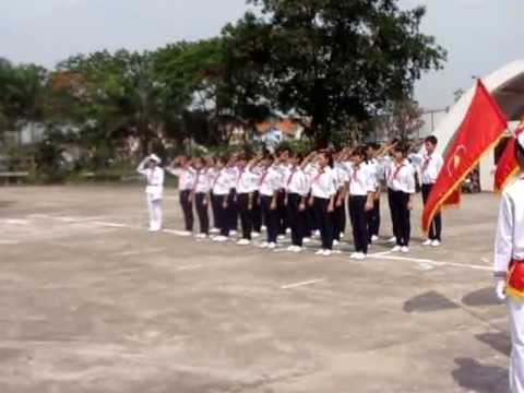 Trường THCS Tương Giang thi nghi thức đội giỏi tỉnh 2013 (phần 1)