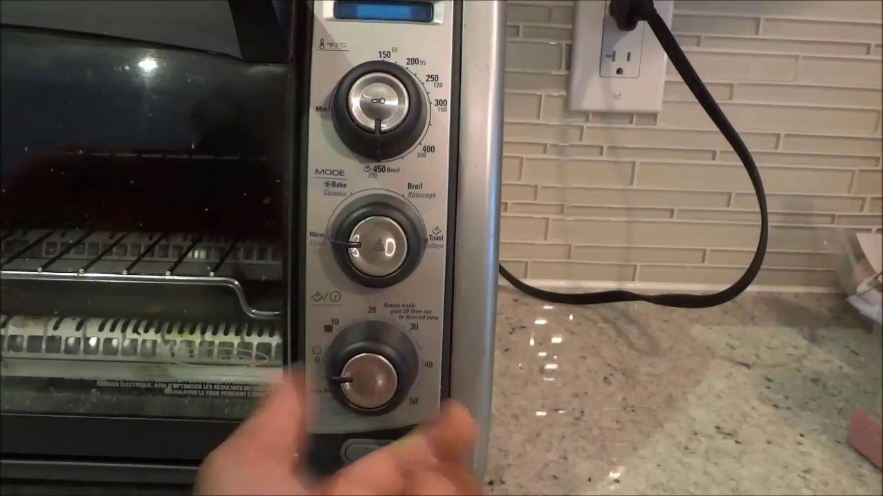 How To Use A Black And Decker Toaster Oven Full Tutorial