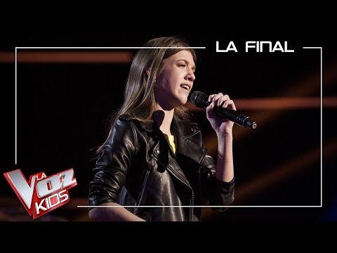 Patricia García Canta 'Y Ahora'   Final   La Voz Kids Antena 3 2019