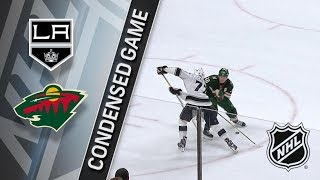 Los Angeles Kings vs Minnesota Wild – Mar. 19, 2018 | Game Highlights | NHL 2017/18. Обзор