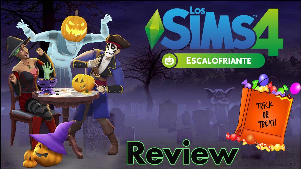 Los Sims 4: Escalofriante ¡FIESTAS DE DISFRACES! (Pack de accesorios ...
