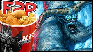 KFC F2P #2: Human Opponents?! You May Be Surprised by the Results