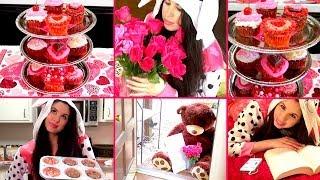 ♥ DIY Valentine's Day Cupcakes ♥ DIY Cupcake Stand & Gift Ideas! ♥