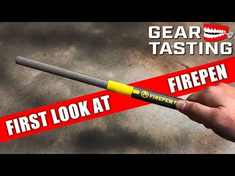 Is Firepen a Viable Breaching Tool? - Gear Tasting 116