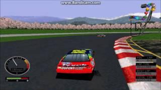 NASCAR Road Racing (PC) Gameplay (Jeff Gordon) (Meibashi Speedway) (3 Laps)