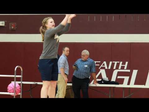 2017 NCCAA Women's 3 Point Contest