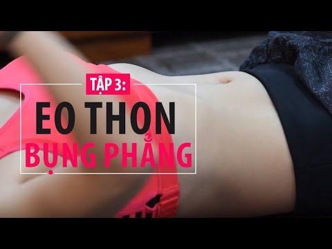 #54 - [Khỏe đẹp mỗi ngày] Tập 3 - Bài tập giúp eo thon bụng phẳng
