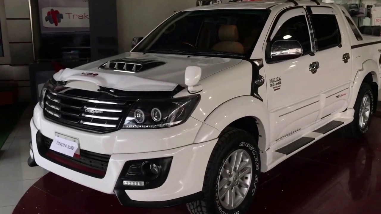 Toyota Hilux Vigo In Pakistan Review Youtube