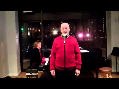 "Chuck Lavazzi Sings Tom Lehrer's ""A Christmas Carol"" At The December Open Stage Night"