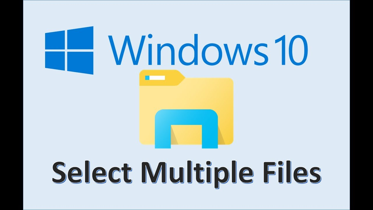 Windows 10 - Selecting Multiple Files - How To Select All - File and Folder  on Laptop - Photos in PC