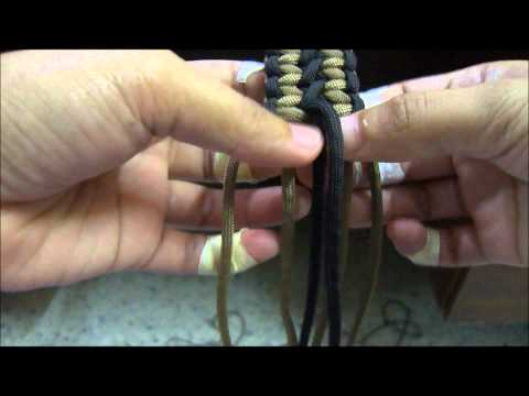 Paracord Belt The Making