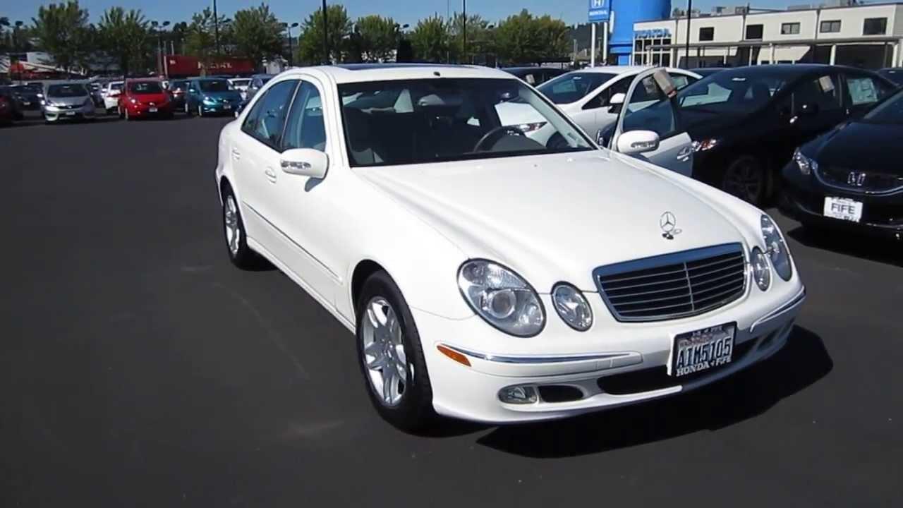 2004 Mercedes Benz E320 White Stock 730855 Youtube