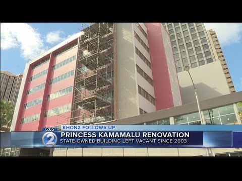 Ongoing renovation of state-owned building still behind schedule