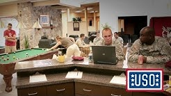 Inside the USO's Many Centers