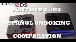 nintendo 2ds espaol unboxing review