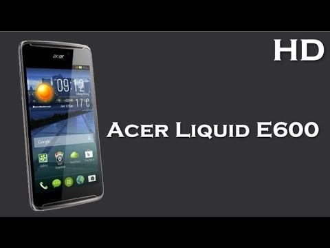 Acer Liquid E600 comes with 1.2 GHz Quad Core Processor, 1 GB RAM, Android 4.4, 2500 mAh Battery
