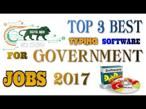 Top 3 Best Free Typing Software For Government Typing Skill Test 2016 - 2017 | Download Link