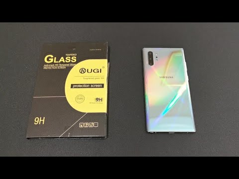 Tempered Glass Screen Protector Note 10 Plus