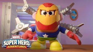Playskool - Marvel Mixable Mashable Heroes: Mr. Potato Head