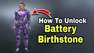 how to get baтtery birthstone character - how to complete gadgets mule Event cod mobile